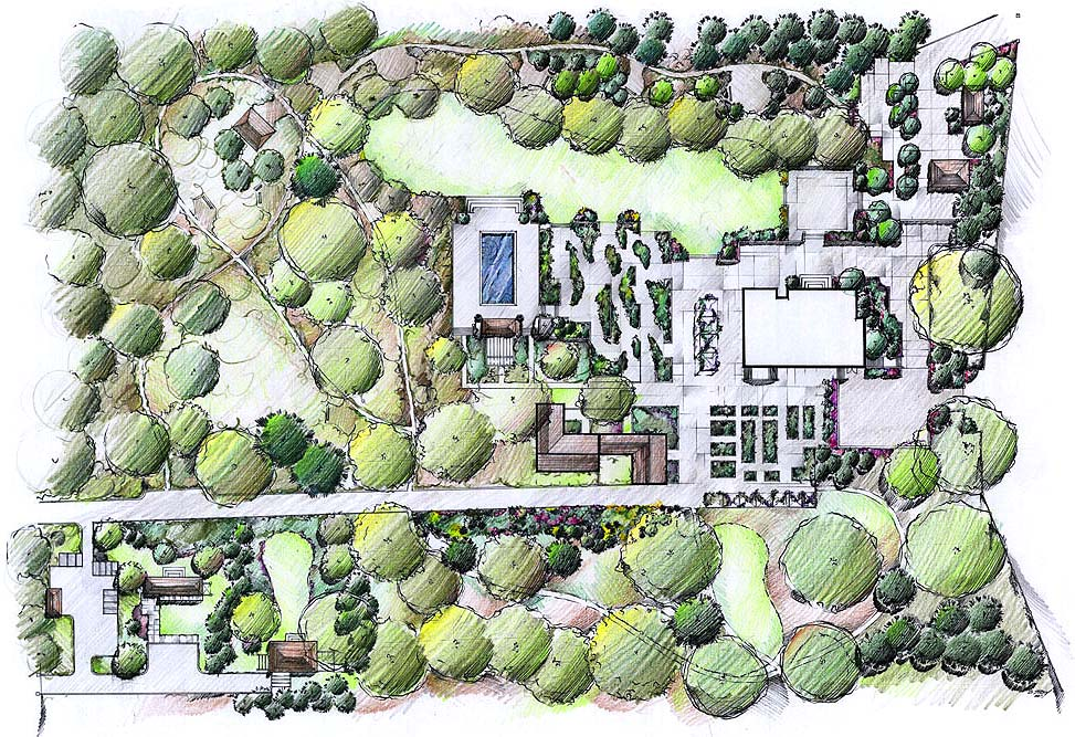 Master Plan Of Garden Executed Landscape Architect Cheryl Mihalko With  Graphic And Production Assistance Chad Stacy