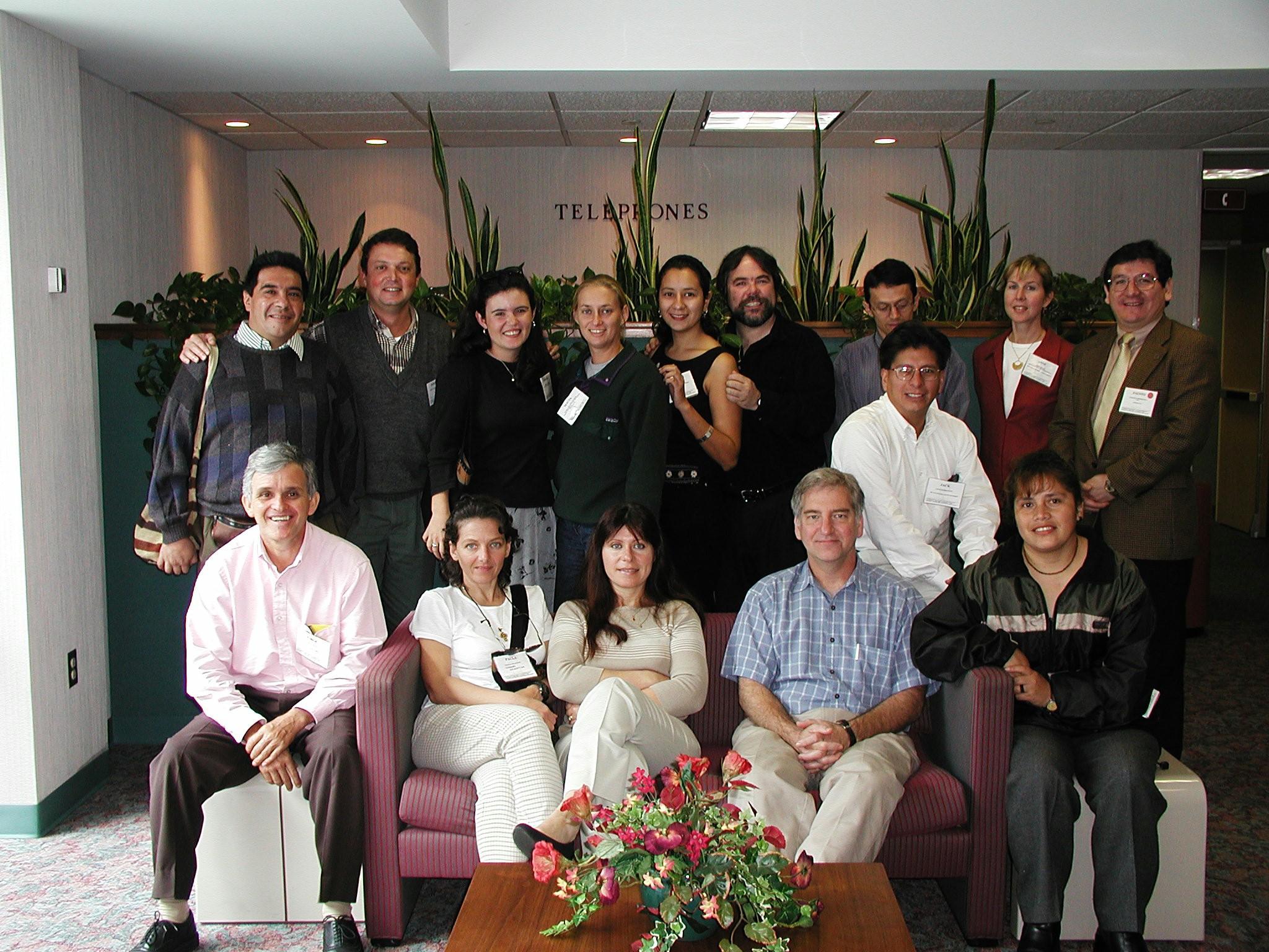Miembros de la red